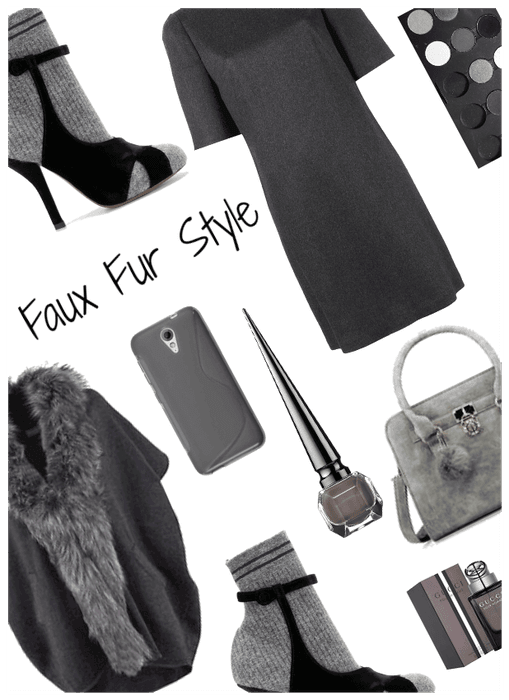 50 Shades of Grey-Faux Fur style