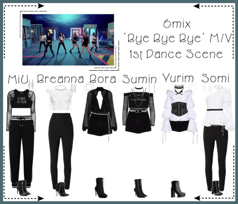 《6mix》'Bye Bye Bye' Music Video - 1st Dance Scene