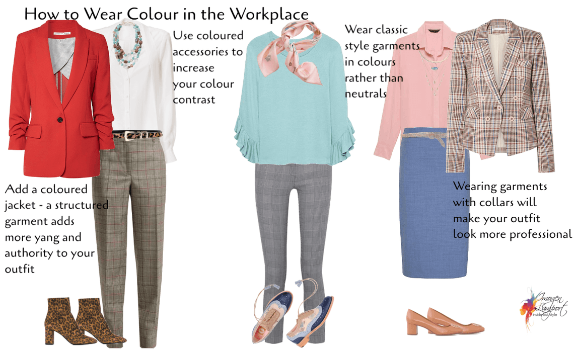 How to wear colour in the workplace
