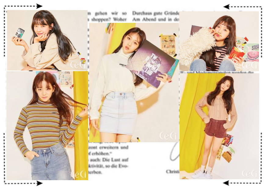 The Dolls CéCi Magazine Photoshoot