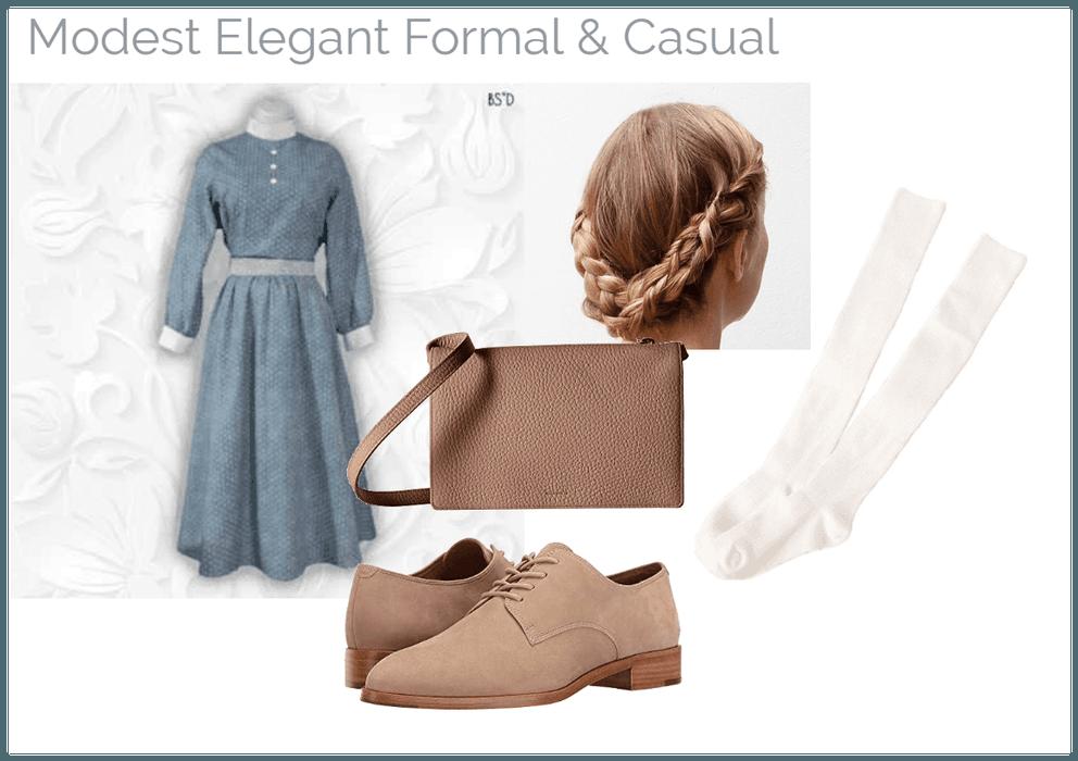 Modest Elegant Formal & Casual