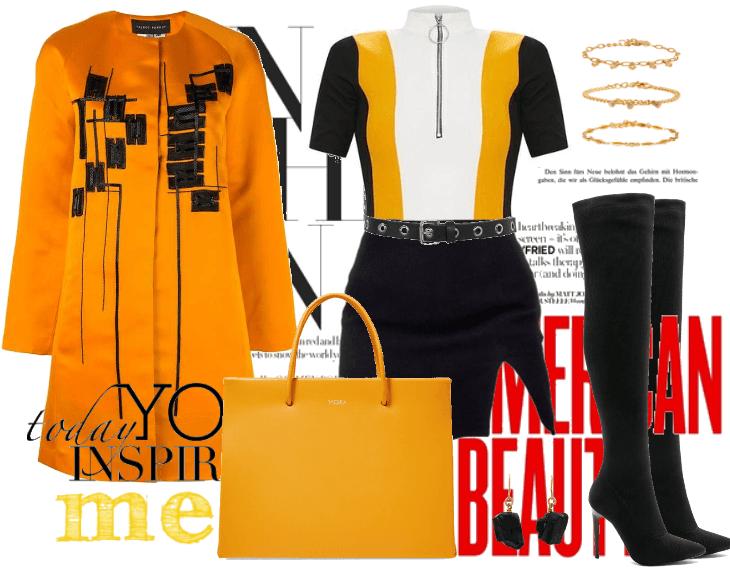 Orangey Coat.