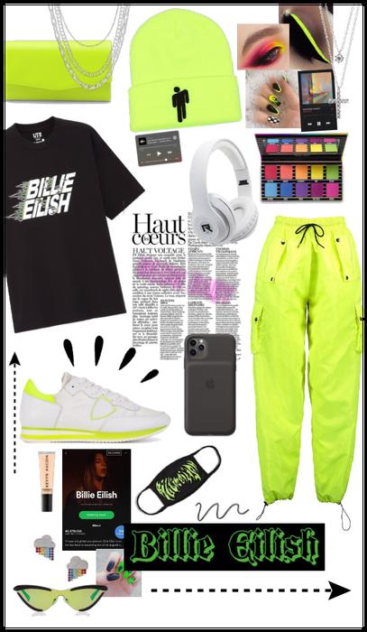 Billie Eilish Neon Inspo
