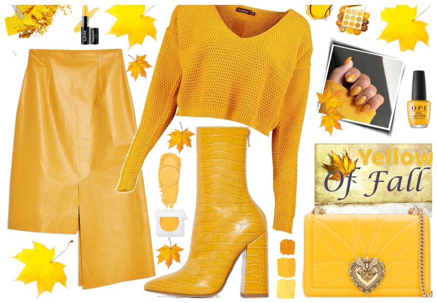 Yellow of fall
