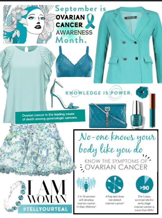 Ovarian Cancer Awareness Month