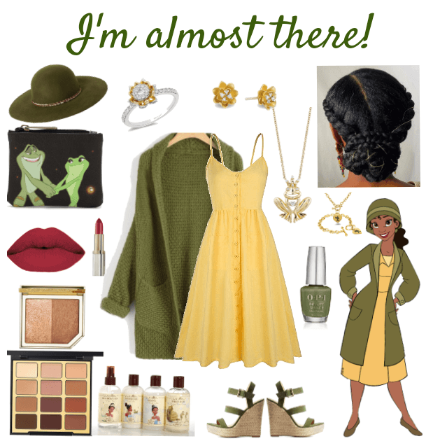 Modern Cute Tiana Outfit