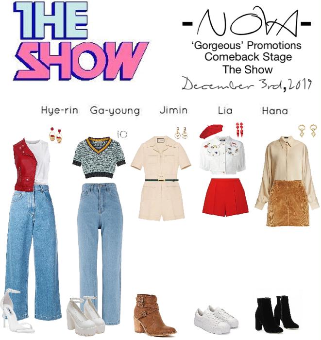 -NOVA- 'Gorgeous' The Show Stage