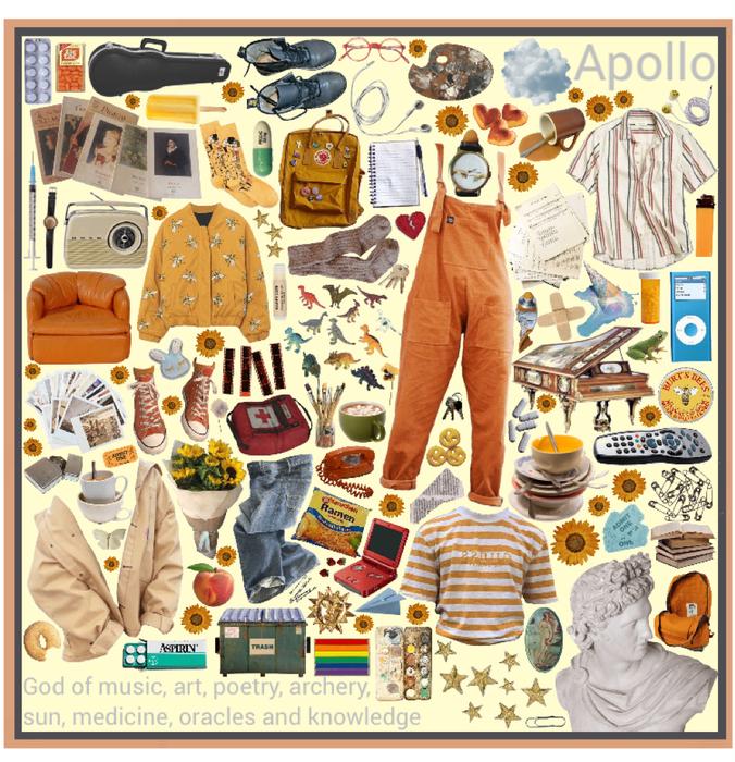 Apollo moodboard