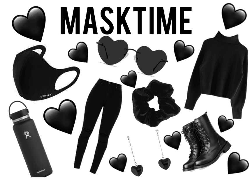 Masktime With A Mix Of Visco And Emo Girls