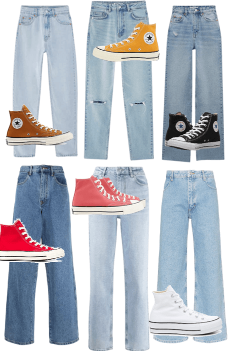 Pants and Converse