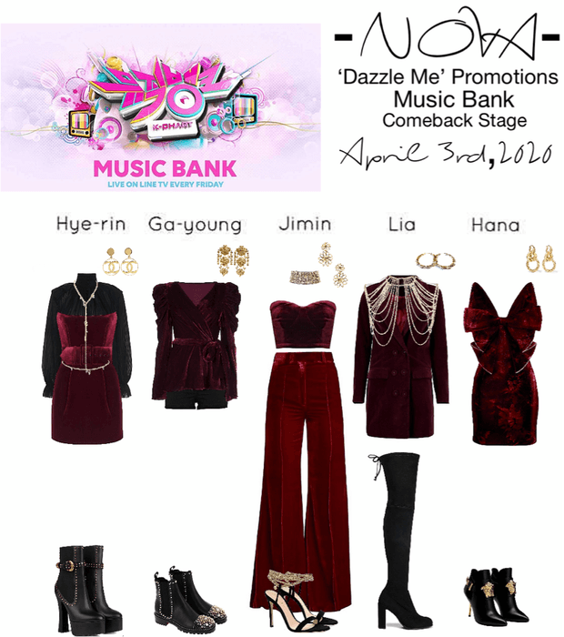 -NOVA- 'Dazzle Me' Music Bank Stage