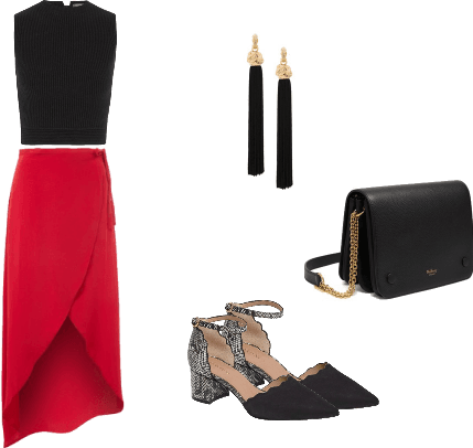 Glam Brunch Outfit