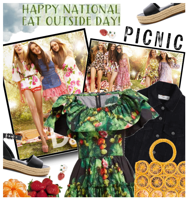 Happy Nat. Eat Outside Day: Picnic Style