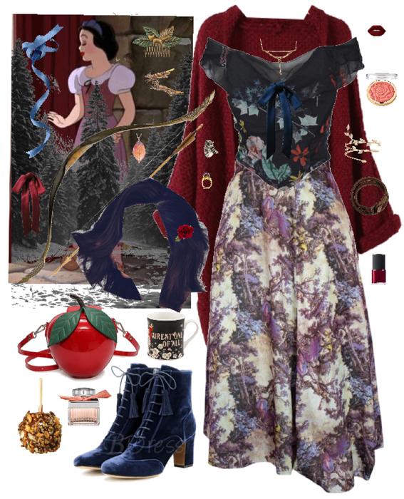 Snow White and the Seven Dwarfs Disney Bound