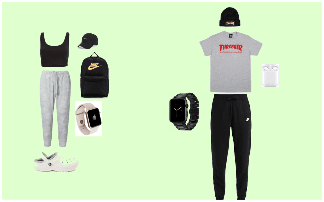 early 2020s outfit