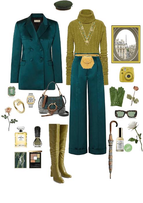 Green in Paris