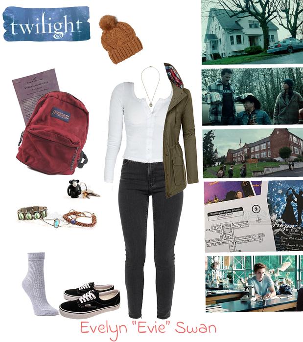Evelyn Swan - Twilight OC