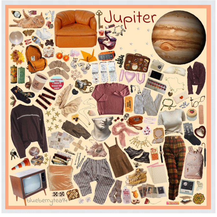 Jupiter Moodboard