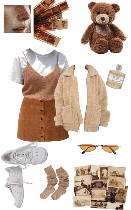 Soft n Brown inspired by @Teddy Bear