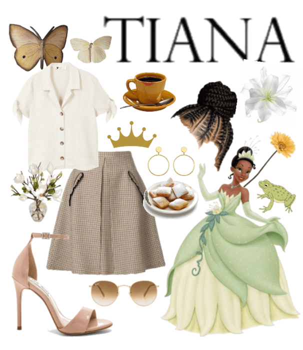 disney ladies; tiana