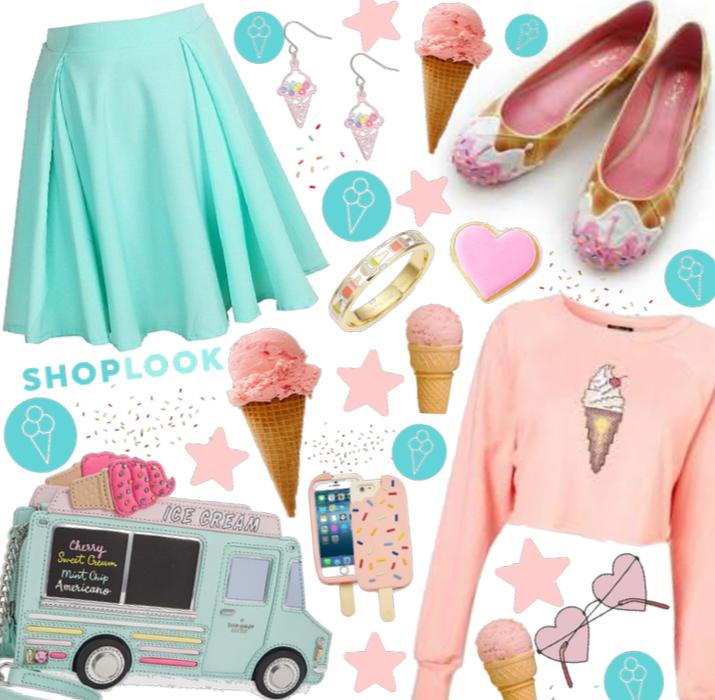 Shoplook ice cream say