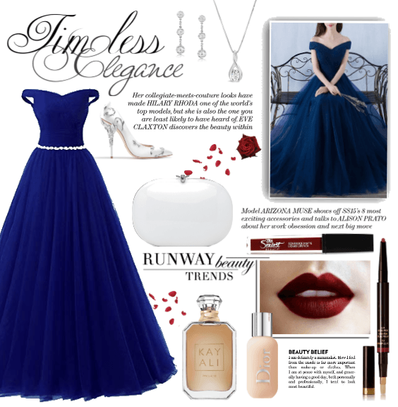 Royal Blue VMA Outfit