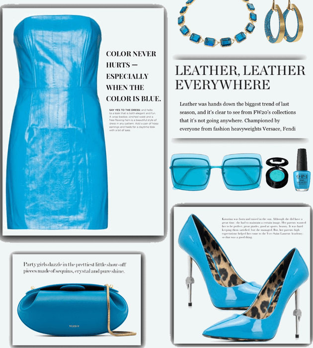 Blue Leather Summer