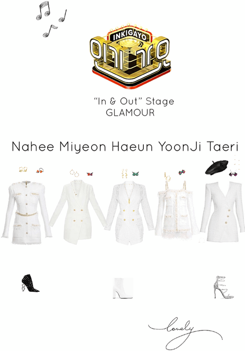 In & Out Inkigayo Stage