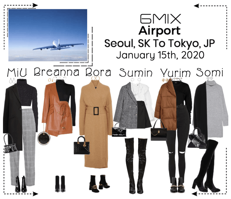 《6mix》Airport | Seoul, SK To Tokyo, JP