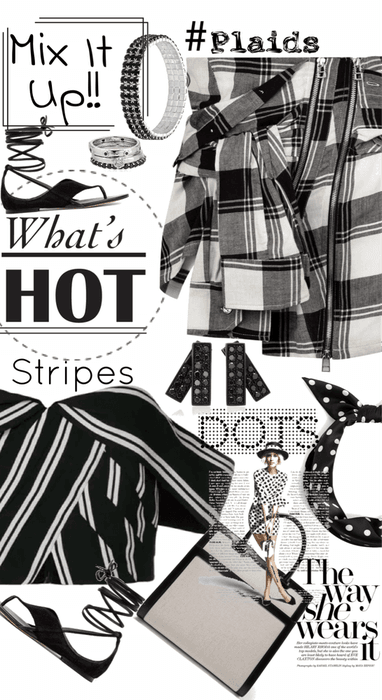Mix it Up - Stripes - Plaids - Dots