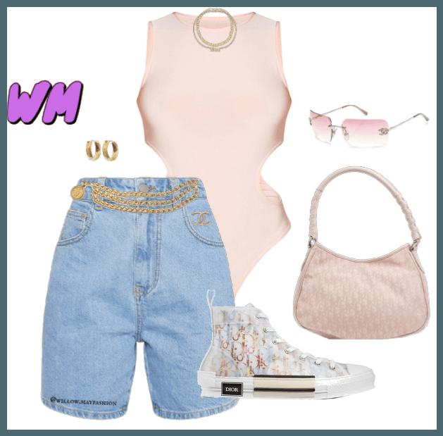 Pink Chanel Dior Summer Fit