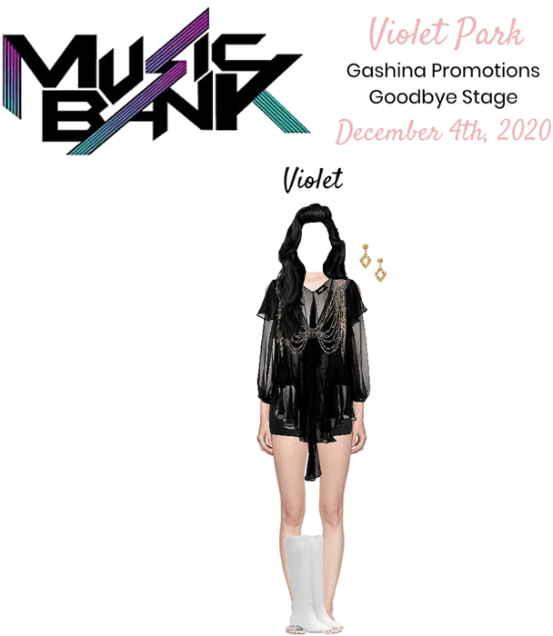 VioletPark _ Music Bank _ Gashina