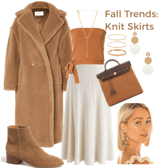 Fall Trend Prediction: Knit Skirts