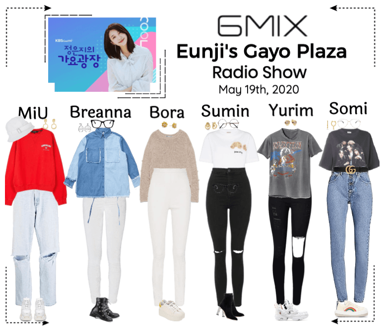 《6mix》Eunji's Gayo Plaza