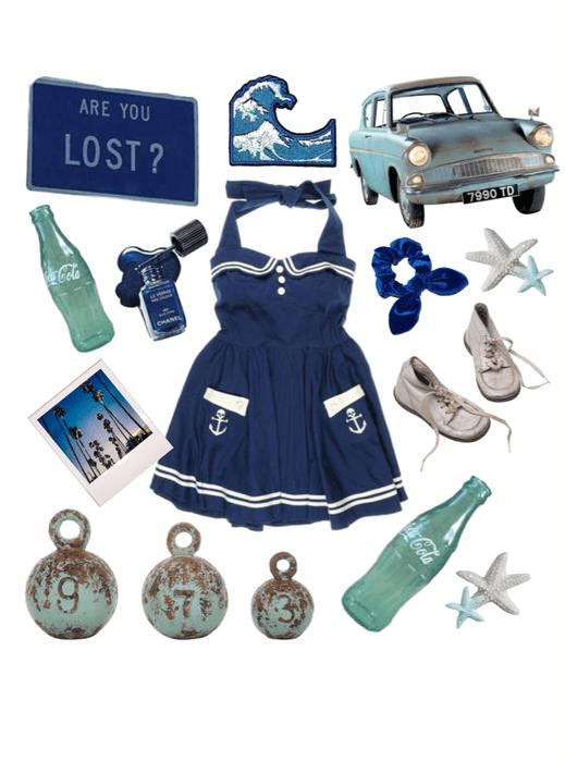Poseidon Cabin The Retro Beach Babe Outfit Shoplook
