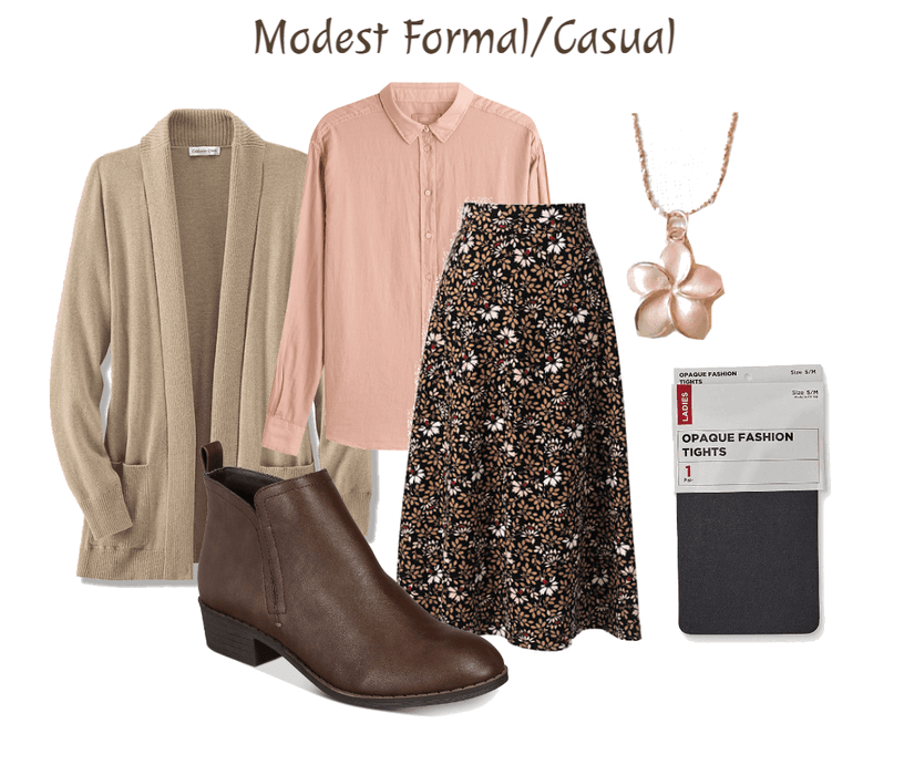 Modest Formal/Casual