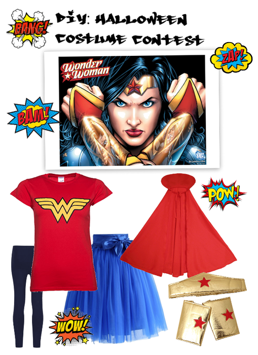 Diy: Halloween Costume Wonder woman