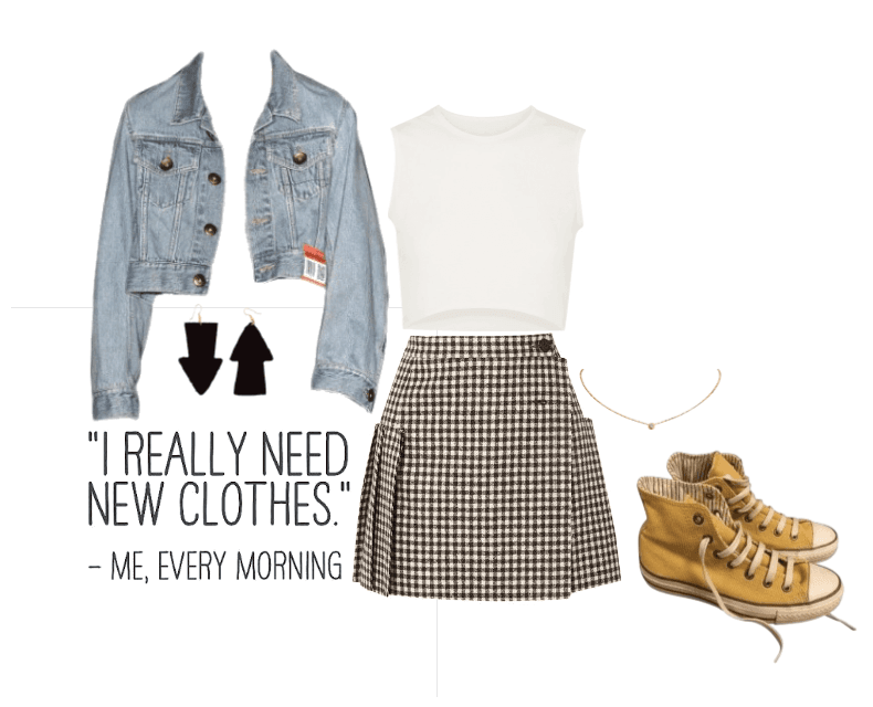 Plaid Skirt~
