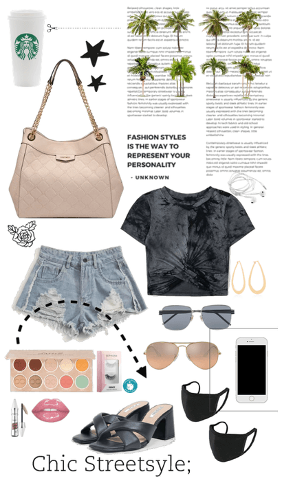 Casual 'in-town' outfit or stay home