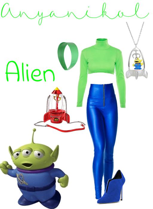 Green Alien - Toy Story