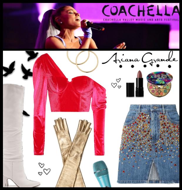 Ariana Style @ Coachella
