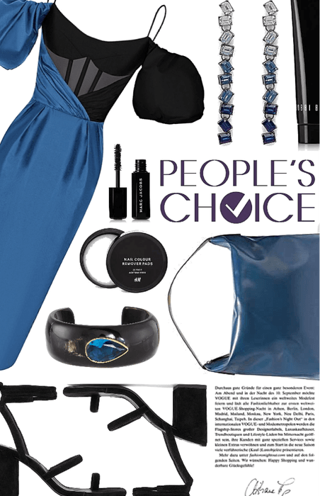blue black and bold