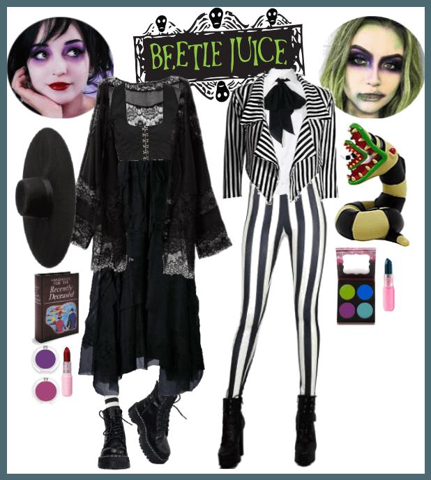 Halloween Beetlejuice Outfit Shoplook