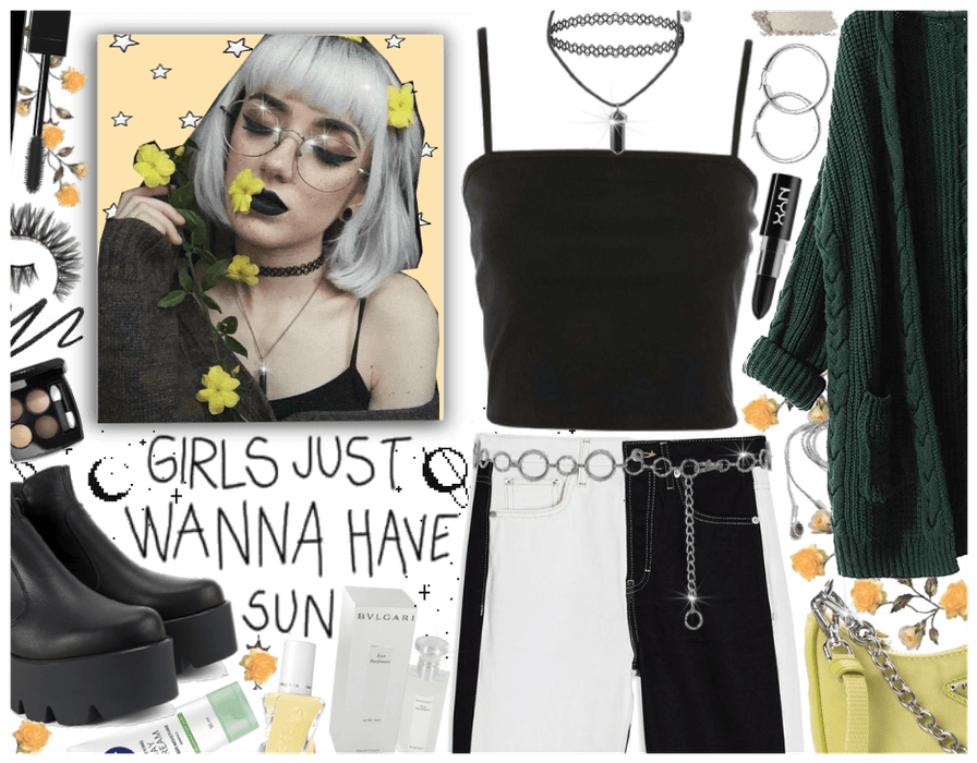 Girls just wanna have sun: Modern Grunge
