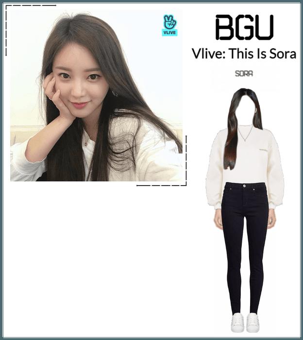 BGU Vlive: This Is Sora