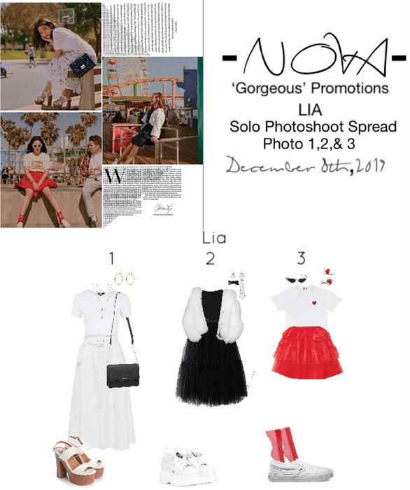 -NOVA- Lia Solo Photoshoot Outfits