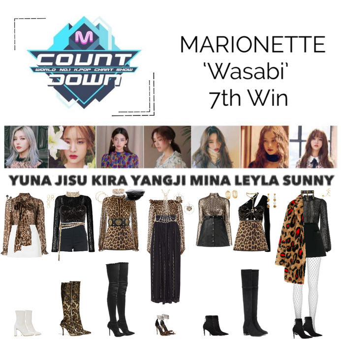 MARIONETTE (마리오네트) M Countdown Stage 'Wasabi'