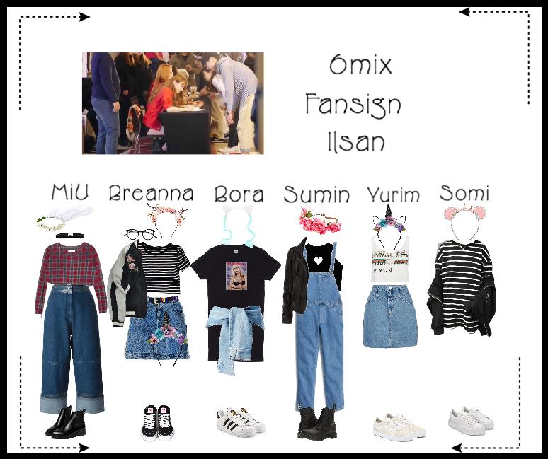 《6mix》Ilsan Fansign