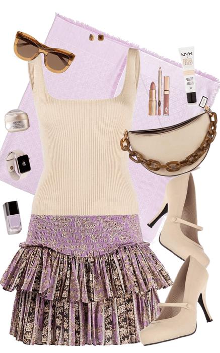 Lilac & Cream