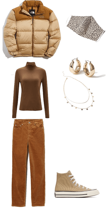 tan outfit for a weekend with friends !!